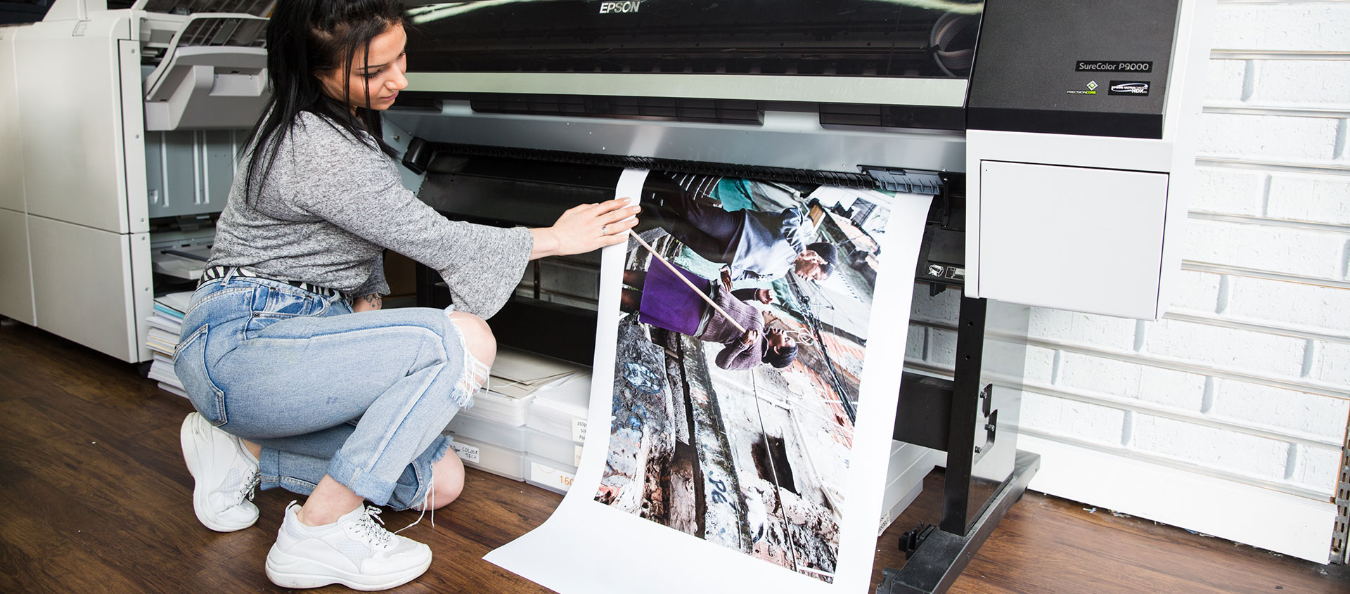 High-quality large format printing